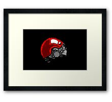Pokeball Go Framed Print