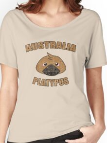Platypus vintage design - Australian animal  Women's Relaxed Fit T-Shirt
