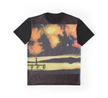 Under the sunset- colored galaxy Graphic T-Shirt