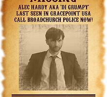 Alec Hardy 'Missing' Poster by silversurfer60