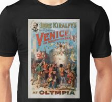 Performing Arts Posters Imre Kiralfys brilliant ballet spectacle Venice the bride of the sea at Olympia 1523 Unisex T-Shirt