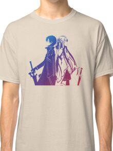 Kirito & Asuna Anime Manga Shirt Classic T-Shirt