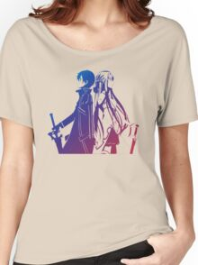 Kirito & Asuna Anime Manga Shirt Women's Relaxed Fit T-Shirt