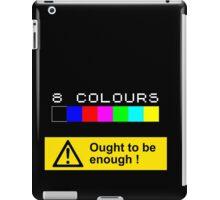 ZX SPECTRUM Colour Palette iPad Case/Skin