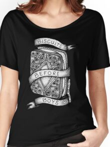 Biscuits Before Boys Women's Relaxed Fit T-Shirt