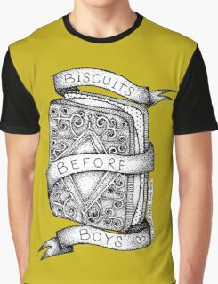 Biscuits Before Boys Graphic T-Shirt