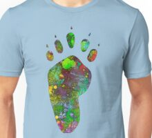 One Foot in Front of the Other Unisex T-Shirt