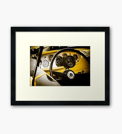 Don't Forget the Interior Framed Print