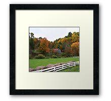 Trade Barn Framed Print