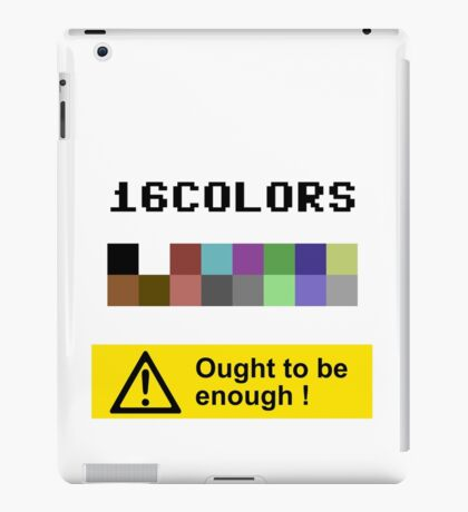 COMMODORE 64 Color Palette iPad Case/Skin