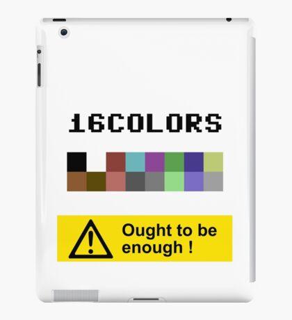 COMMODORE 64 Color Palette iPad Case/Skin