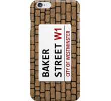 Baker Street Sign iPhone Case/Skin