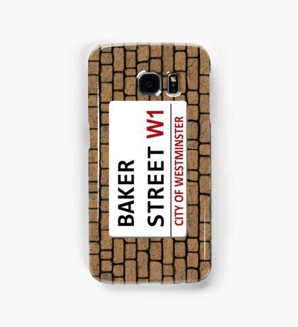 Baker Street Sign Samsung Galaxy Case/Skin