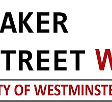 Baker Street Sign by nero749