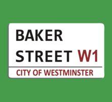 Baker Street Sign Kids Clothes