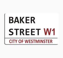 Baker Street Sign One Piece - Short Sleeve