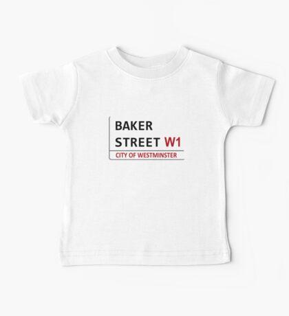Baker Street Sign Baby Tee