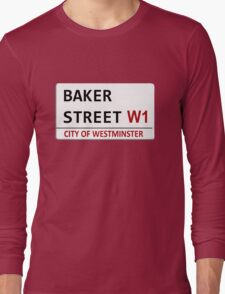 Baker Street Sign Long Sleeve T-Shirt