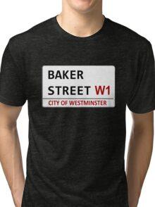 Baker Street Sign Tri-blend T-Shirt