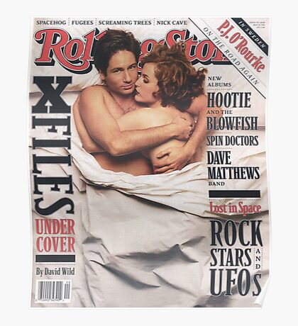 The X-Files 1996 Rolling Stone Cover Poster