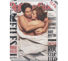 The X-Files 1996 Rolling Stone Cover iPad Case/Skin