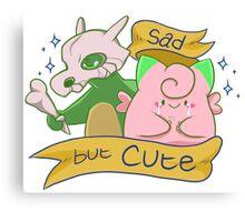 Sad but Cute Canvas Print