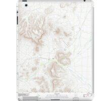 USGS TOPO Map Arizona AZ Bates Well 20111125 TM iPad Case/Skin
