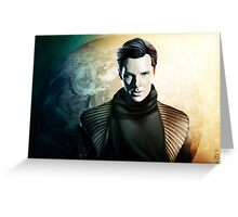 Star Trek Into Darkness: KHAN Greeting Card