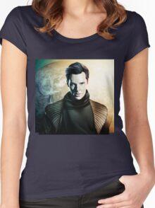 Star Trek Into Darkness: KHAN Women's Fitted Scoop T-Shirt