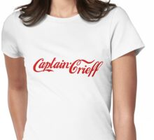 Captain Crieff (Red Version) Womens Fitted T-Shirt
