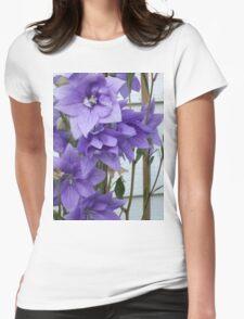 BALLOON FLOWER Womens Fitted T-Shirt