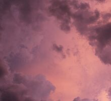 Storm Clouds at Sunset (2) by mlleruta