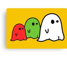 halloween ghost Canvas Print