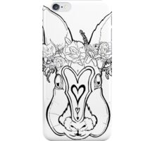Flower Crown Bunny iPhone Case/Skin