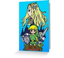 Hero of Time Greeting Card