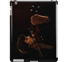 Sherlock and his Violin iPad Case/Skin