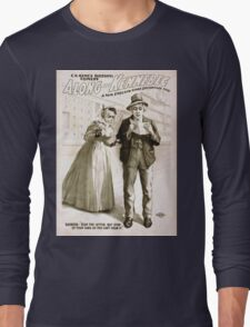 Performing Arts Posters CR Renos successful comedy Along the Kennebec a New England story laughingly told 1228 Long Sleeve T-Shirt