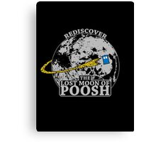 The Lost Moon of Poosh Canvas Print