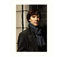 Sherlock at 221B Art Print