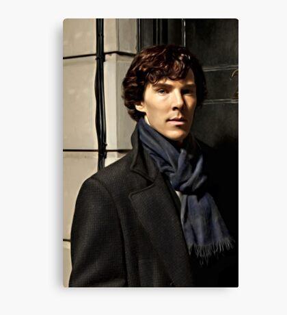 Sherlock at 221B Canvas Print