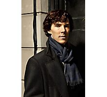 Sherlock at 221B Photographic Print