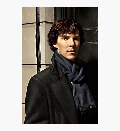 Sherlock at 221B Photographic Print