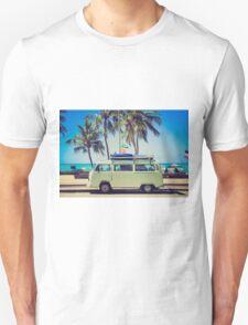 VW Bus/Camper holiday Unisex T-Shirt