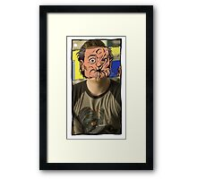 Arseface ~ Paper to Screen ~ Preacher Framed Print