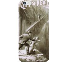 Performing Arts Posters The city of New York by Walter Fessler 2016 iPhone Case/Skin