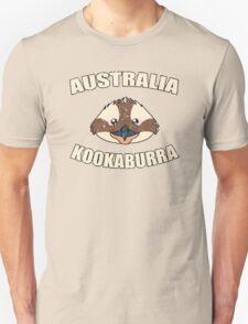 Kookaburra bird vintage design - Australian animal  Unisex T-Shirt