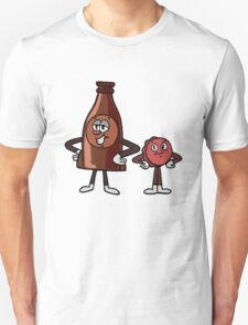 Cappy and Bottle, Now in Color! - Nuka World Unisex T-Shirt