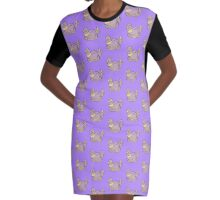 Buttans Graphic T-Shirt Dress