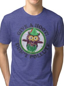 Woodsy The Owl Tri-blend T-Shirt