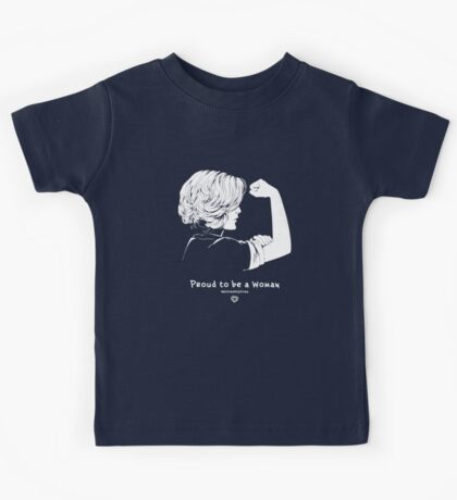 Proud To Be A Woman  Kids Tee